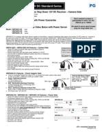 PG 12VDC StandardSeries Manual