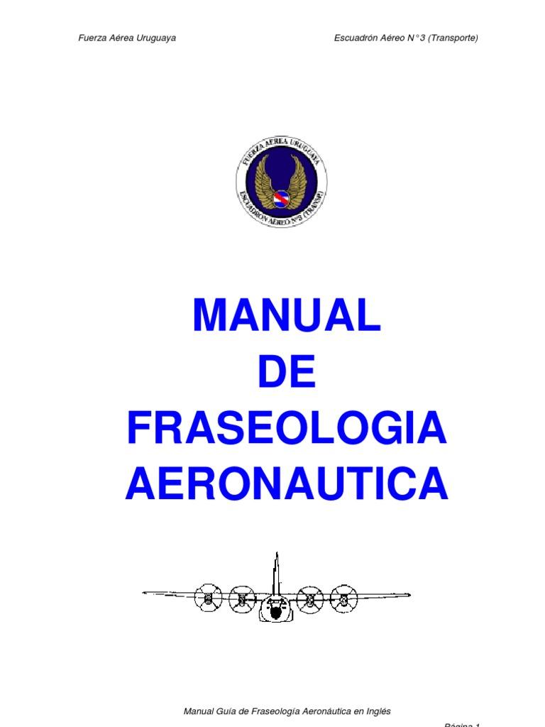 Fraseologia | Instrument Flight Rules | Air Traffic Control
