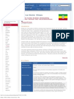 Charity Law Ethiopia