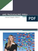 Pagsasaling-wika