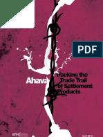 Ahava Report - Who Profits