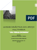 Unidad didáctica usando TIC