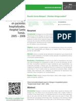 Epidemiología yclínica del dengueen pacienteshospitalizados.Hospital SantoTomás.2005 – 2006