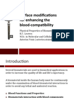 Surface Modification - Blood Compatibility