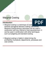 Marginal Cost Basic