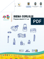 Igiena Copii 0-1 an Parinti Educatori