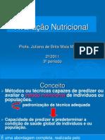 AVALIAÇÃO NUTRICIONAL AULA1