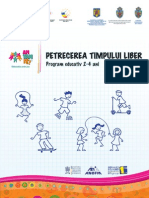 Timpul Liber Jocuri Copii 2-4 Ani Parinti Educatori