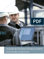 Siemens - Acuerdo de Servicios Tecnicos