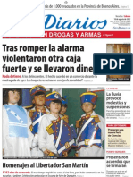 Ecos Diarios - Sábado 18 de agosto 2012