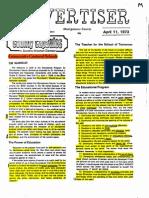 Advertiser 1973-74-6pgs EDU