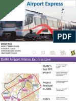 Delhi Airport Express Metro