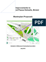 Cumberland Piazza Masterplan Proposals