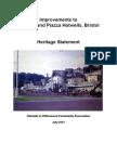 Cumberland Piazza Heritage Statement