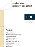 Microcontroller Based Automatic Railway Gate control