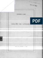 Herbert Caro - Balcao de Livraria