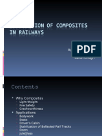 Application of Composites in Railways