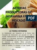 Bacterias Productoras de Histamina