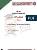 Guia N-1 Instalacion de Oracle Client