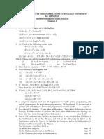 Tutorial 1 jiit discrete maths
