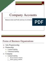 3. Company Account
