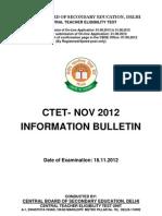 Ctet Nov2012