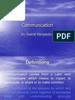 22. Communication