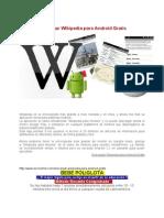 Descargar Wikipedia Para Android Gratis