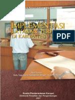 Implementasi Layanan Terpadu Di Kabupaten Atau Kota
