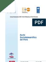 Perfil Sociodemográfico del Perú Censo2007
