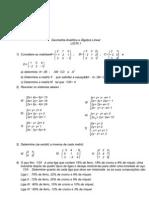 Ficha Algebra Matrizes