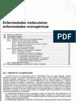 Tema 28 Enfermedades Moleculares, Enfermedades Monogenicas