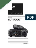 IC-7000 Manual Em PortuguesBR