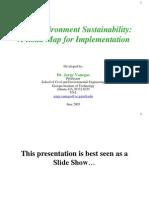 Built Environment Sustainability