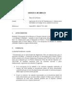 007-05 - Banco de la Nación - Aplicacion del RUA