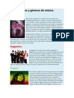 Tipos y géneros de música