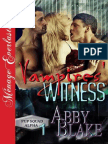 Abby Blake - [PUP Squad Alpha #1] Vampires' Witness