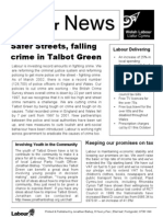 Talbot Green Labour News (April 2004)