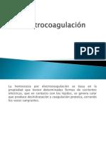 Electrocoagulación CIRUGIA ICO