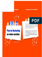 Plan de Marketing en Redes Sociales para inmobiliarios
