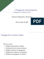 Modelos de Propagacion