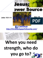 Jesus, The Power Source