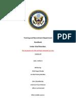 T&R Handbook 2.0 Draft One.