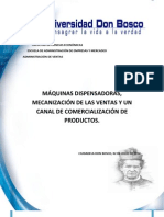 Maquinas Dispensadoras