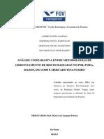 TCC - GEEP17 - Analise Comparativa de Metodologias de Gestao de Risco