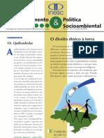 Artigo sobre direito étnico quilombola
