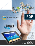 AOC MW0812 Media Tablet Manual Del Usuario_V2.3