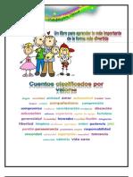 Cuaderno de educación en valores