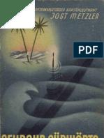 Metzler, Jost - Sehrohr Suedwaerts (1943, 313 S., Text)