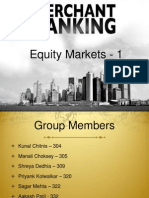 Equity Markets - 1